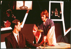 Production still for the play Bete Blanche by Rose Scollard, which premeired under the title Bete Blanche/Tango Noir at the Pumphouse Theatre on May 2-18, 1991.