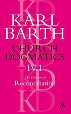 Doctrine of Reconciliation, Vol. 1 (57-63)