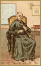 Charles-Michel de l'Epee, French Clergyman and Philanthropic Educator (chromolitho)