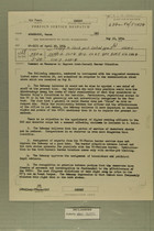 Foreign Service Despatch re: Comment on Measures to Improve Arab-Israeli Border Situation, May 10, 1954