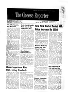 Cheese Reporter, Vol. 88, No. 5, Friday, September 25, 1964