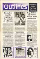 Chicago Outlines The Voice of the Gay and Lesbian Community Vol.1 No.9 July 30, 1987