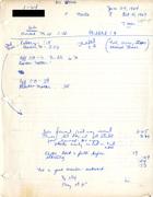 1-64 No Crying [handwritten data charts]