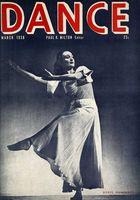 Dance (Magazine), Vol. 3, no. 6, March, 1938, Dance, Vol. 3, no. 6, March, 1938