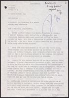 Despatch from Anthony Parsons re: Publication of Letters Critical of Rastakhiz, 1977 circa