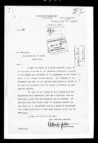 Documentation from Allen W. Dulles to Charles Evans Hughes re: The Number of Armenians in the Boundaries of the Turkish Empire, March 1, 1921