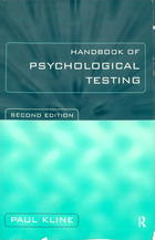 The Handbook of Psychological Testing