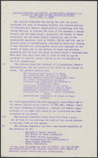 Report on the Work of the Liaison Committee from 1953-1962