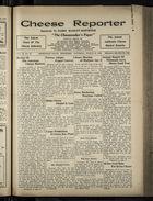 Cheese Reporter, Vol. 54, no. 29, Saturday, March 29, 1930
