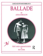 Language of Dance, No. 4, Ballade by Anna Sokolow