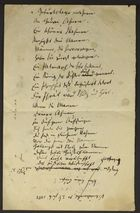 Lists and Notes by Salomon Brann, circa 1883