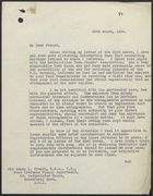 Letter from S. P. Vivian to Sir Henry L. French re: Misinformation on the National Register, March 25, 1939