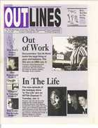 OUTLINES The Weekly Voice of the Gay, Lesbian, Bisexual and Trans Community Dec. 30, 1998 Serving the Community Since 1987