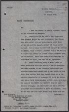 Letter from E. C. Hole to Foreign Office re: Summary Report on Situation in Damascus, August 19, 1926