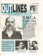 OUTLINES The Weekly Voice of the Gay, Lesbian, Bi & Trans Community, July 21, 1999, Serving the Community Since 1987