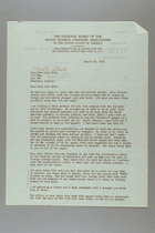 Letter from Austra Root to Ruth Lois Hill, August 25, 1952