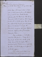 Confidential Memo to the Inspector General of Fortification on Lt. Col. Horne's Report No. 1 of 15 Nov. 1876