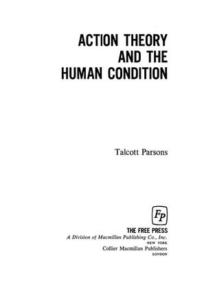 Action Theory and the Human Condition
