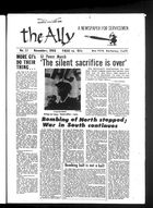 Ally: A Newspaper for Servicemen, The Ally, Vol. 1 no. 11, November 1968
