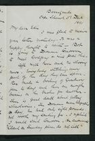 Letter from Robert Anderson to Edith Thompson, December 5, 1891