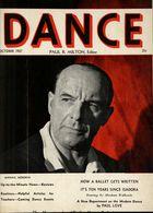 Dance (Magazine), Vol. 3, no. 1, October, 1937, Dance, Vol. 3, no. 1, October, 1937