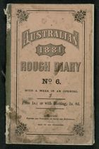Diary of Alfred William Crowe, 1881