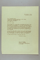 Letter from Mary van Kleeck and Susan B. Anthony (II) to Mrs. Frederic March, November 8, 1945