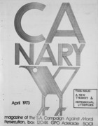 Canary  - April, 1973
