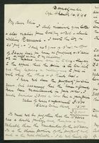 Letter from Robert Anderson to Edith Thompson, August 14, 1898