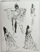Sketches for Costumes for Pro Arte Gratelli, Miami, FL.