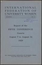 IFUW conference proceedings, 5