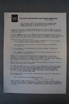 Some Statements Made by the Pan Pacific and Southeast Asia Women's Association to the United Nations Bodies Showing How the PPSEAWA Contributes to the Work of the UN, 6 June 1970