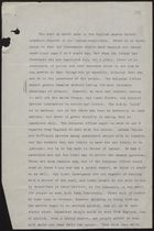 Report re: Labour Conditions and Threats of Violence in Jamaica, circa June 1938