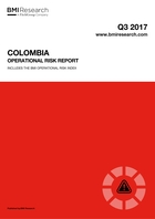 Colombia Operational Risk Report: Q3 2017