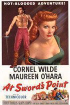 At Sword's Point (1952): Shooting script