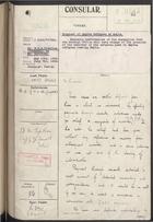 Correspondence re: Disposal of Smyrna Refugees at Malta, May 10-July 15, 1926