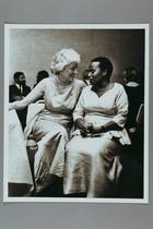 Zelia Ruebhausen and Margaret Kenyatta (daughter of Jomo Kenyatta), 1964