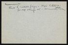 Handwritten Notes on Measurement in Hopi Culture