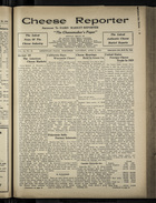 Cheese Reporter, Vol. 54, no. 30, Saturday, April 5, 1930