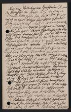 Draft of Letter [from Markus Brann toSteckelmacher],August 25, 1912