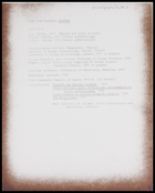 Brief curriculum vitae of John Hugh Marshall Beattie