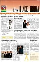 the Black Forum, Vol. 1, No. 2