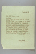Letter from Mary van Kleeck and Susan B. Anthony (II) to the Children's Bureau, November 8, 1945