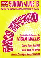 Arena Disco Inferno promotional postcard