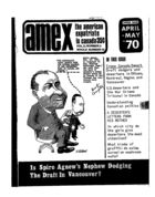 American Expatriate in Canada, Volume 2, Issue 3, Amex-Canada, Vol. 2 no. 3, Whole Number 19, 1970
