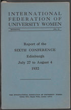IFUW conference proceedings, 6