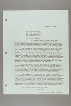 Letter from Helen Fowler to Helen Hackley, January 2, 1957