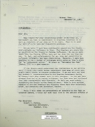 Letter from Armin H. Meyer to Robert C. Strong re: Iran-Iraq relations, November 30, 1965
