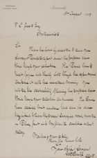 Letter from George R. Bounliff to Robert Logan Jack, August 10, 1889