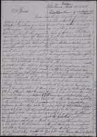 Letter from E.A. Witherden to Friend, March 20, 1855